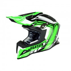 CASCO HELMET CROSS J12 GREEN JUST1