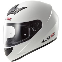 CASCO INTEGRALE HELMET FF352 ROOKIE SINGLE MONO BIANCO LS2