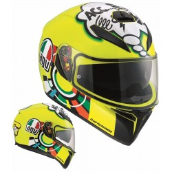 CASCO INTEGRALE K-3 SV E2205 TOP MISANO 2011 AGV