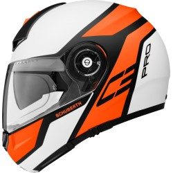 CASCO MODULARE C3 PRO ECHO ORANGE SCHUBERTH