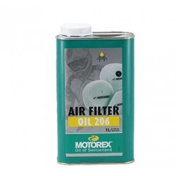 MOTOREX OLIO FILTRO ARIA AIR FILTER OIL 206