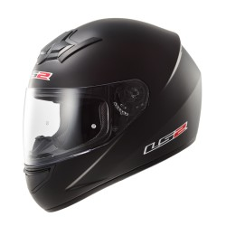 CASCO INTEGRALE FF352 ROOKIE SOLID NERO OPACO LS2