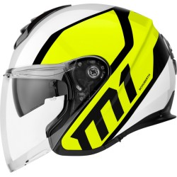 CASCO HELMET JET M1 FLUX YELLOW SCHUBERTH