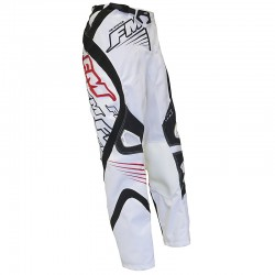PANTALONI MOTO CROSS ENDURO FM RACING FORCE X24 BIANCHI FM RACING