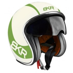 CASCO HELMET JET CAFE RACER LIMITED EDITION BKR