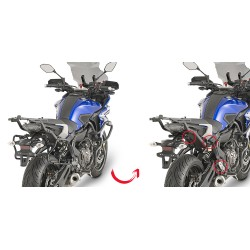 PORTAVALIGIE LATERALE SPECIFICO YAMAHA MT-07 TRACER GIVI PLXR2130