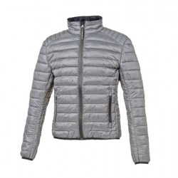 PIUMINO ULTRALEGGERO UOMO LOT PACK LIGHT GREY TUCANO URBANO