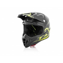 CASCO HELMET CROSS IMPACT CARBON 3.0 NERO GIALLO ACERBIS