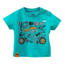 KTM MAGLIETTA BIMBO KIDS MECHANIC TEE 2018 3PW189040