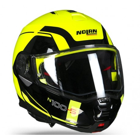 casco helmet modulare n100 5 consistency n com yellow. Black Bedroom Furniture Sets. Home Design Ideas