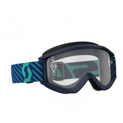 MASCHERA SCOTT RECOIL XI BLUE TEAL CLEAR WORKS