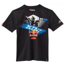 KTM T-SHIRT KINI RED BULL ATHLETIC TEE NIGHT SKY